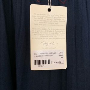 Margaret O'Leary Dresses - NWT Margaret O'Leary Santorini Embroidered Dress